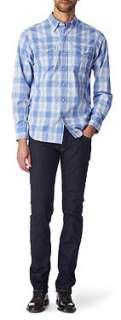 RALPH LAUREN Western regular fit single cuff shirt