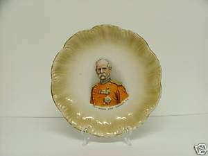 ANTIQUE Plate British Field Marshall Lord Roberts V C |