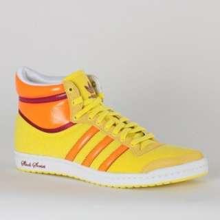Adidas Top Ten Hi Sleek G19595 Damen Schuhe Zitronengelb