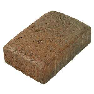 Basalite Plaza Rectangle Paver   Red/Brown/Charcoal 100002963 at The