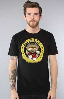 Rich Scampi The Hello Ricky Tee in White  Karmaloop   Global
