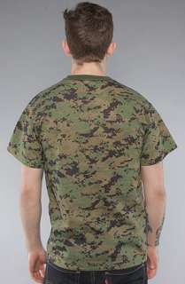 Rothco The Woodland Digital Camo Tee in Olive Camo  Karmaloop