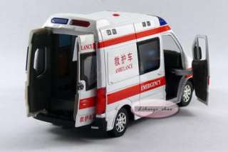 New Mercedes Benz 132 Diecast Ambulance Model Car with Sound and