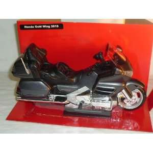 HONDA GOLD WING GOLDWING 2010 GRAU SCHWARZ GL1800 GL 1800 1/12 NEW RAY