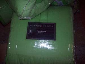 Tommy Hilfiger Cotton Classics Key Lime F/Q Comforter