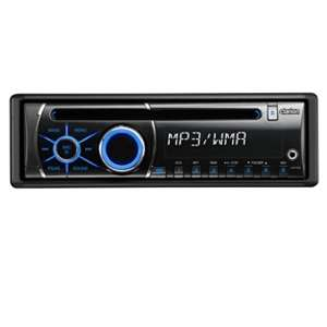 Clarion CZ100 In Dash Head Unit Car Stereo   Single DIN, Front