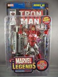 Marvel Legends Series VII / 7 Silver Centurion Iron Man 086892711200