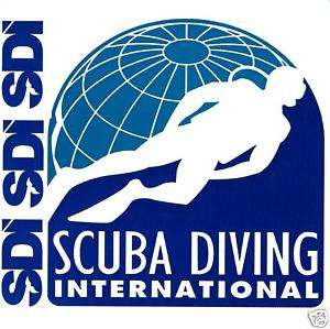 Scuba Diving SDI Logo Stickers (Pack of 10)