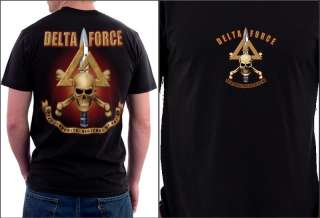 Army Delta Force T Shirts S M L XL XXL XXXL