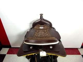 King Saddlery 16 All Purpose Western Horse Saddle Tack Leather NEW