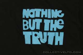 Nike SB Nothing But The Truth Video Tee Shirt BLACK Large L