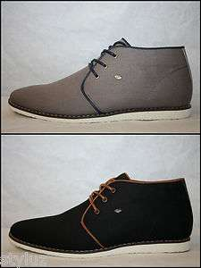 British Knights LEAPER Mid Black/Brown (Schwarz/Braun) & Lt Grey/Navy