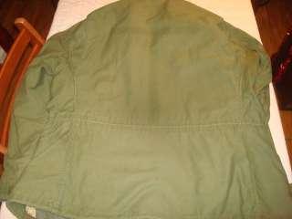 War US Army M65 Field Jacket LARGE Sz 48 Uniform Tunic Nam BIG