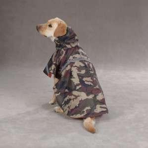 GUARDIAN GEAR CAMO DOG RAIN COAT / JACKET GREEN NEW