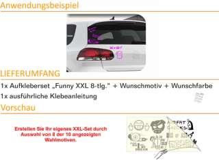E179 Shocker DUB OEM Aufkleber Sticker VW GOLF AUDI SET