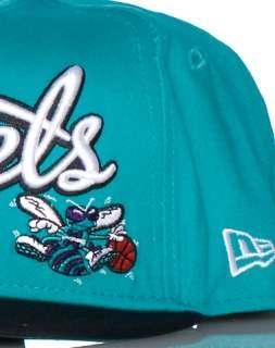 NEW ERA CHARLOTTE HORNETS NBA SNAPBACK CAP