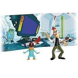 Phineas & Ferb Action Figuren Scene Pack   Dr. Doofenshmirtz and Agent