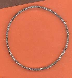 James Avery Sterling Silver Daisy Bangle Bracelet RETIRED