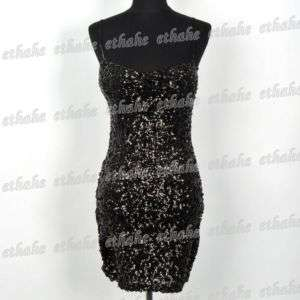 Gorgeous Prom Lycra Mini Dress With Sparkling Sequins