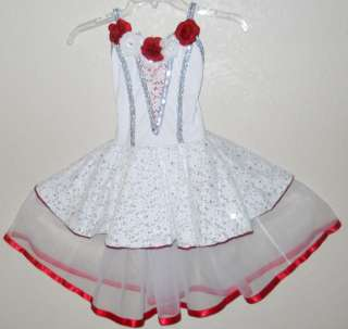 New girls dance costume outfit dress Size XL
