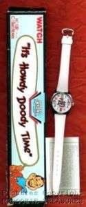 1986   87 40th Anniversary Howdy Doody Watch w/Box NEW