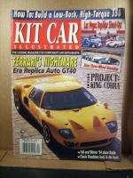 Kit Car Illustrated Magazine, April 1995 King Cobra