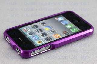 Aluminium Bumper Metal Case Cover for Genuine Apple iPhone 4 4S PF0400
