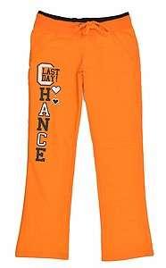 Miss Jeans Girls Orange & Black Stretch Pant Size 10 12 14 16 $24.99