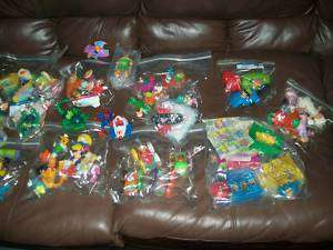 RARE LOT MCDONALD KIDS TOYS AIRPLANE DOLLS CARS PEOPLE