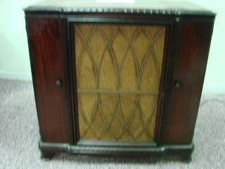 Record Player AM FM SW 612V3 Antique Tube Radio Superheterodyne