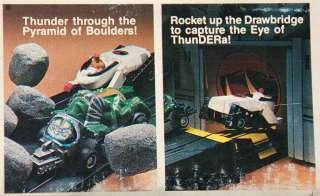 Vintage MIB 100% Complete TYCO THUNDERCATS HO Slot Car Racing Eye of