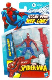Marvel Universe Spider Man with Web Attack Action Figure