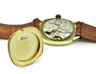 14k Solid Gold Tiffany Co Watch Mens Manual Wind girard perregaux