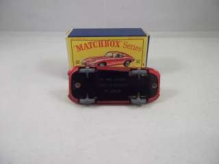 MATCHBOX LESNEY NO 32 JAGUAR E TYPE GREY TYRES (2)