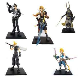 Game 5 x FINAL FANTASY VII Cloud Squall Tidus Figure