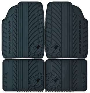 car mat set black rubber mats SPARCO PROGETTO CORSA