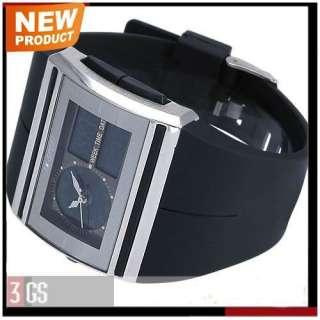 Cool New Black Mens Dual Core LCD Chronograph AK Sport Alarm Digital