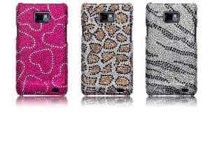 Carcasa tipo diamantes para Samsung Galaxy S2 i9100 modelo Leopardo.