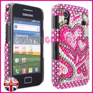 SAMSUNG GALAXY ACE S5830 BLING DIAMOND GEM CASE