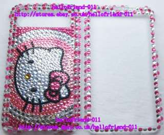 NEW Hello kitty BLing Full Case For HTC HD7 #5