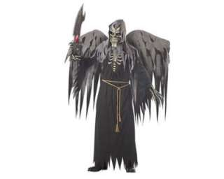 Costume Travestimento Halloween ANGELO DELLA MORTE HORROR