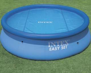 Megastore 247   NEW INTEX 15 FT SOLAR SWIMMING POOL COVER EASY TO USE