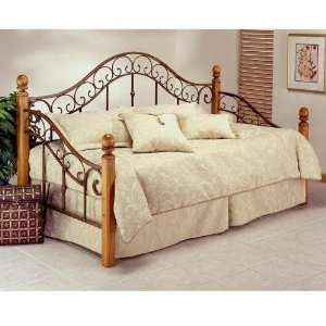 Hillsdale Furniture 138DBLHTR Marco Day Bed, Light Rust
