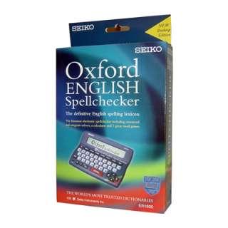 SEIKO ELECTRONIC ENGLISH SPELL CHECKER DESK VERSION 9784921141332