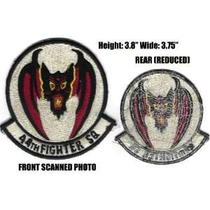 44th fighter squadron 3.75 Patch Office Products