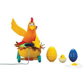 Hen Pull Along Toy   Wonderworld   3   4 Years   FAO Schwarz