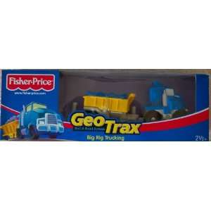 GeoTrax Rail Road System Big Rig Trucking Toys & Games