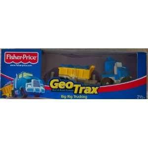 GeoTrax Rail Road System Big Rig Trucking Toys & Games