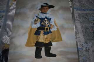 Costume carnevale piccolo moschettiere 1 2 a Melzo    Annunci