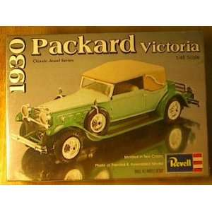 48 Scale 1930 Packard Victoria Revell Model Kit Everything Else